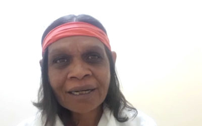 Message from Jingki Ngombal (Nyungar, Australia)