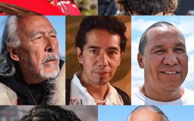 August 15 – The Grandfathers and the Men of the Mother Earth Delegation speak