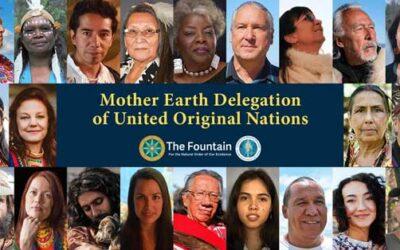 November 21, 2020 The Mother Earth Delegation of United Original Nations