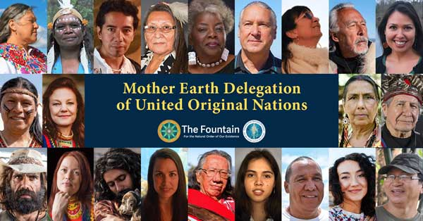 November 21, 2020 The Mother Earth Delegation of United Original Nations