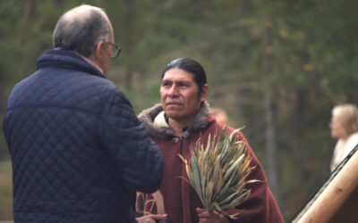 Guardian of Life gathering at Ekskäret Island