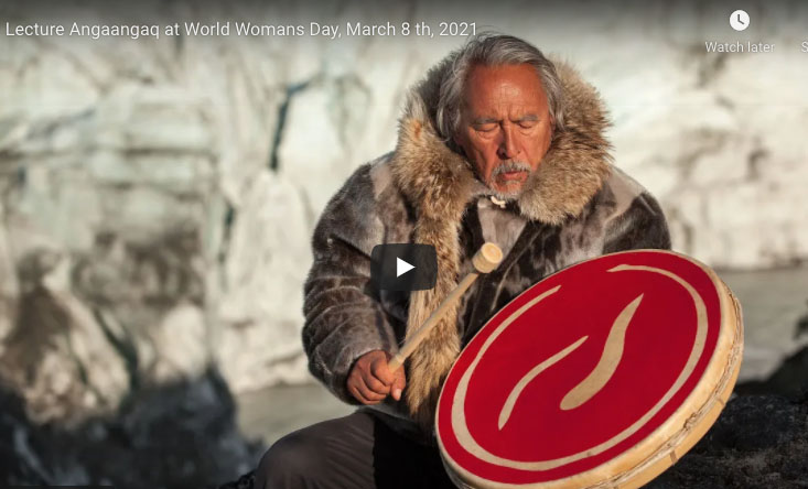 Angaangaq on Woman's Day, March 8th, 2021