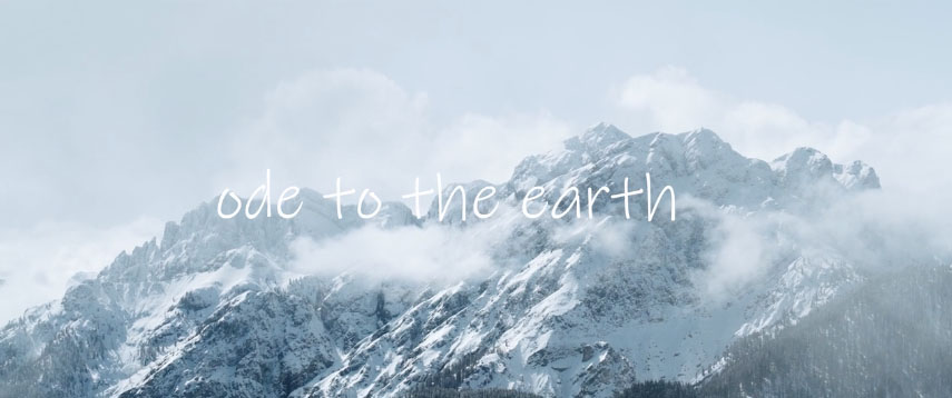Ode to the Earth
