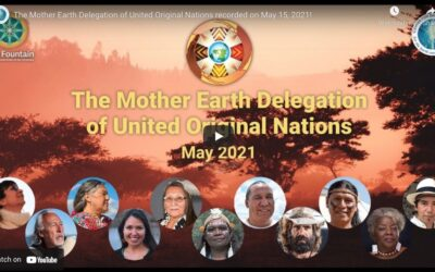 Mother Earth Delegation of United Original Nations May 15, 2021