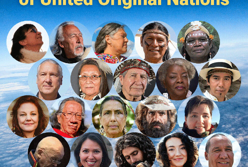 The Mother Earth Delegation of United Original Nations July 17-2001