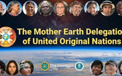 The Mother Earth Delegation of United Original Nations 8-21-21