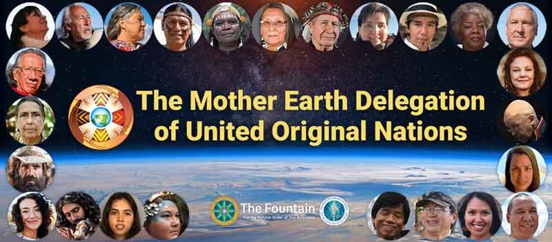 The Mother Earth Delegation of United Original Nations! September 18